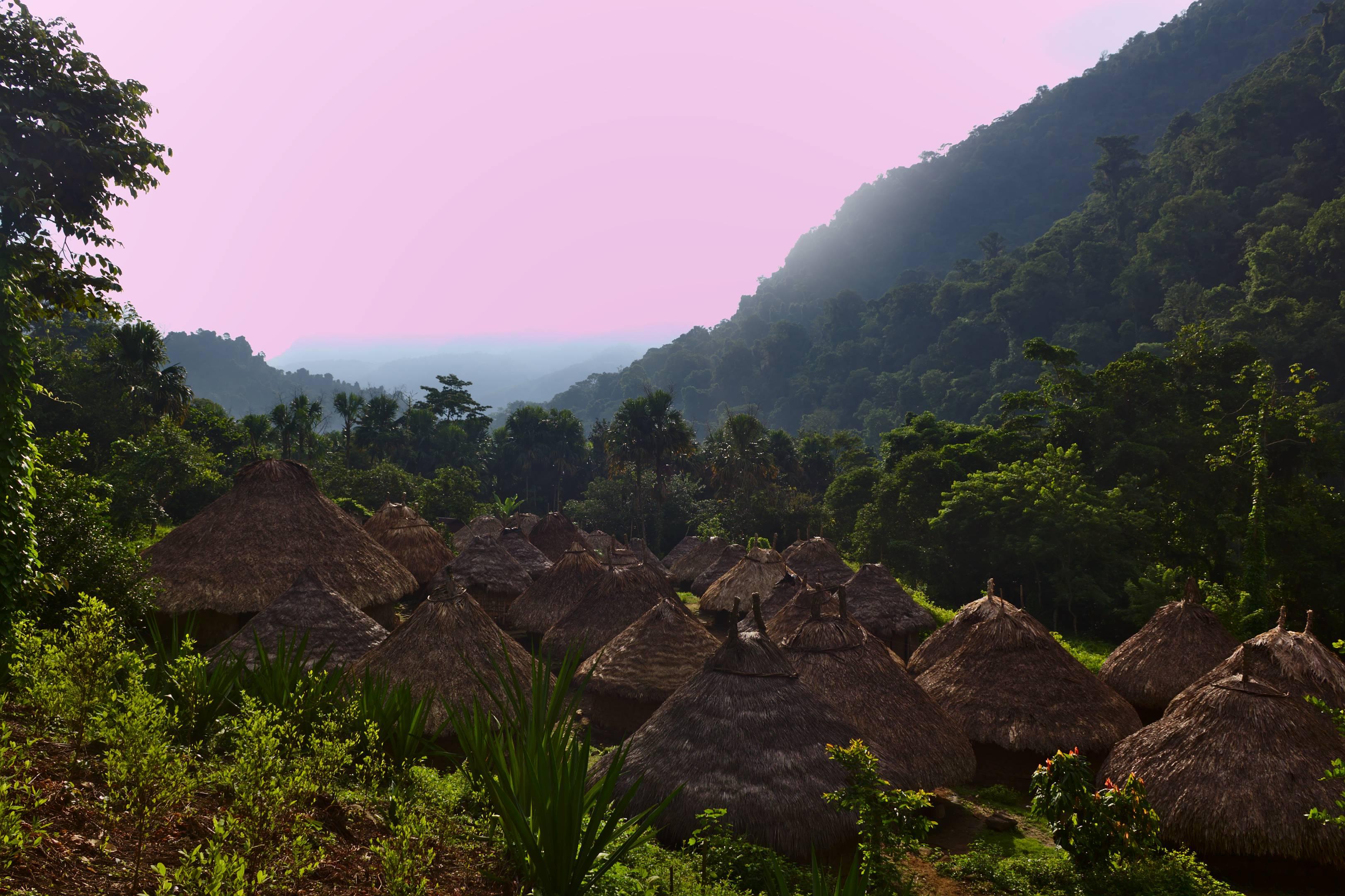 Kogi Village on the 1st day