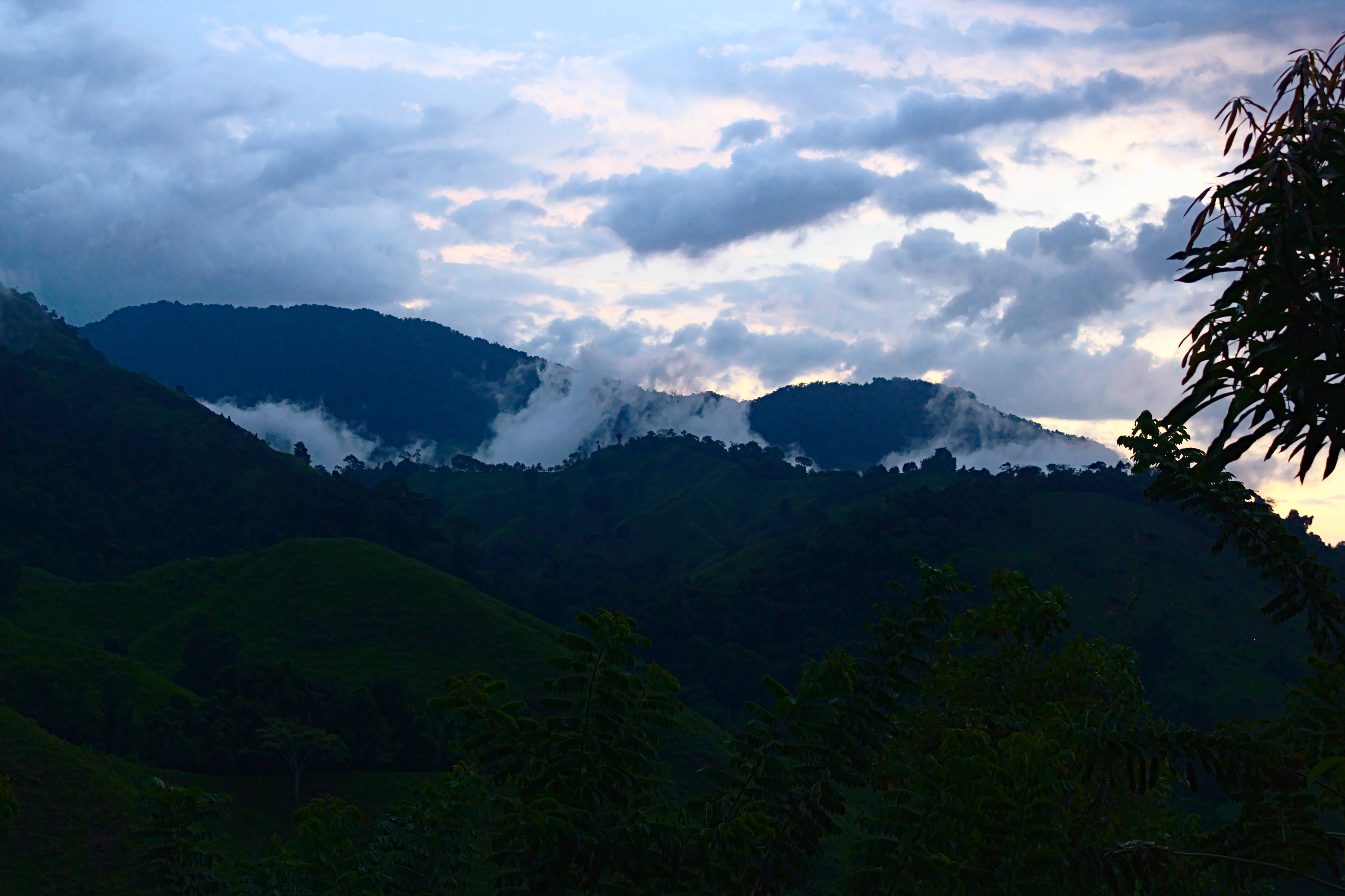The views from Ricardito Camp, known locally as Vista Hermosa